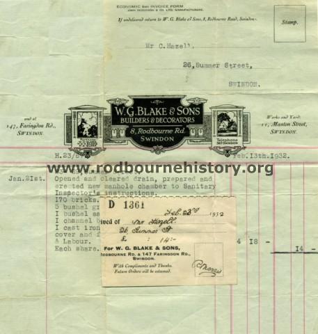 Wg Builders w g sons builders rodbourne community history